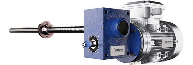 Motorreductores para ventilación industrial en granjas